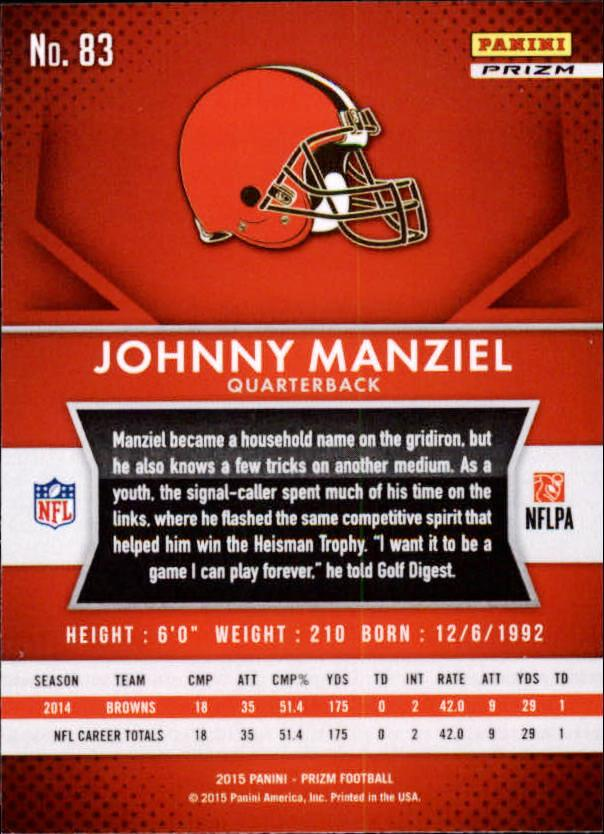 2015-Panini-Prizm-Football-Insert-Parallel-Singles-Pick-Your-Cards thumbnail 119