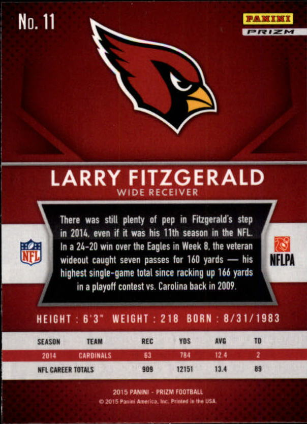2015-Panini-Prizm-Football-Insert-Parallel-Singles-Pick-Your-Cards thumbnail 151
