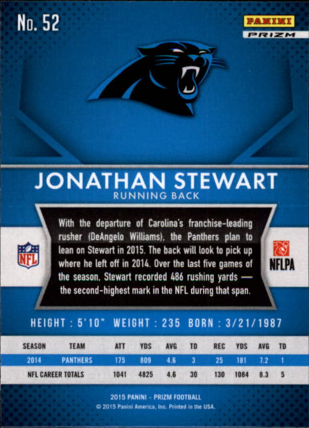 2015-Panini-Prizm-Football-Insert-Parallel-Singles-Pick-Your-Cards thumbnail 163