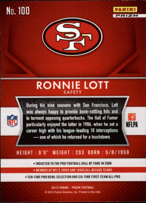 2015-Panini-Prizm-Football-Insert-Parallel-Singles-Pick-Your-Cards thumbnail 179
