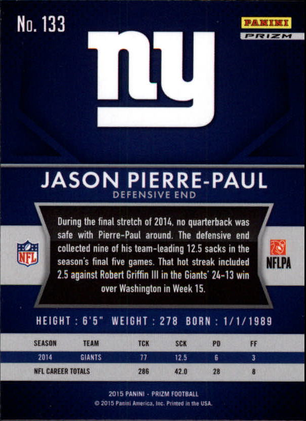2015-Panini-Prizm-Football-Insert-Parallel-Singles-Pick-Your-Cards thumbnail 197