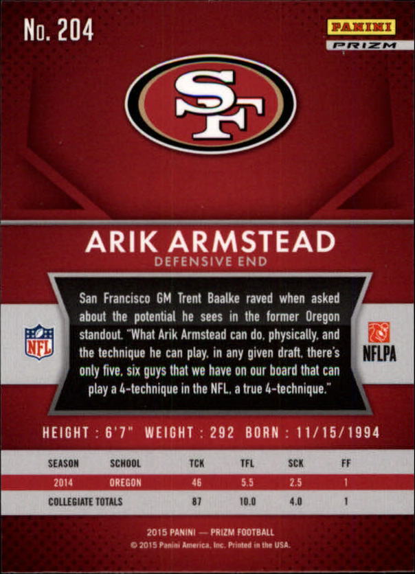 2015-Panini-Prizm-Football-Insert-Parallel-Singles-Pick-Your-Cards thumbnail 261