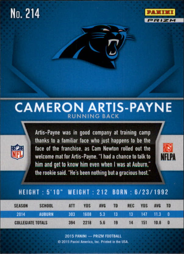 2015-Panini-Prizm-Football-Insert-Parallel-Singles-Pick-Your-Cards thumbnail 267