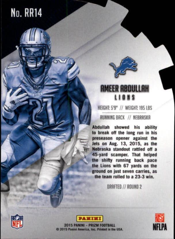 2015-Panini-Prizm-Football-Insert-Parallel-Singles-Pick-Your-Cards thumbnail 313