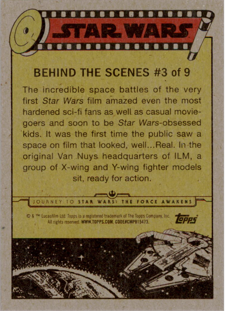 2015-Star-Wars-Journey-to-The-Force-Awakens-Insert-Singles-Pick-Your-Cards miniature 7