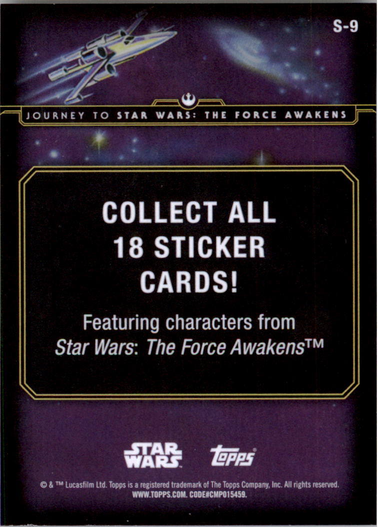 2015-Star-Wars-Journey-to-The-Force-Awakens-Insert-Singles-Pick-Your-Cards miniature 23