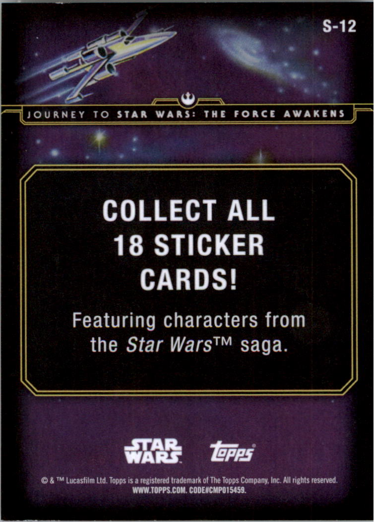 2015-Star-Wars-Journey-to-The-Force-Awakens-Insert-Singles-Pick-Your-Cards miniature 29