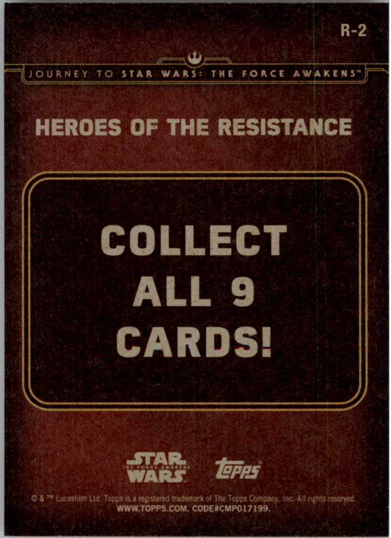2015-Star-Wars-Journey-to-The-Force-Awakens-Insert-Singles-Pick-Your-Cards miniature 51