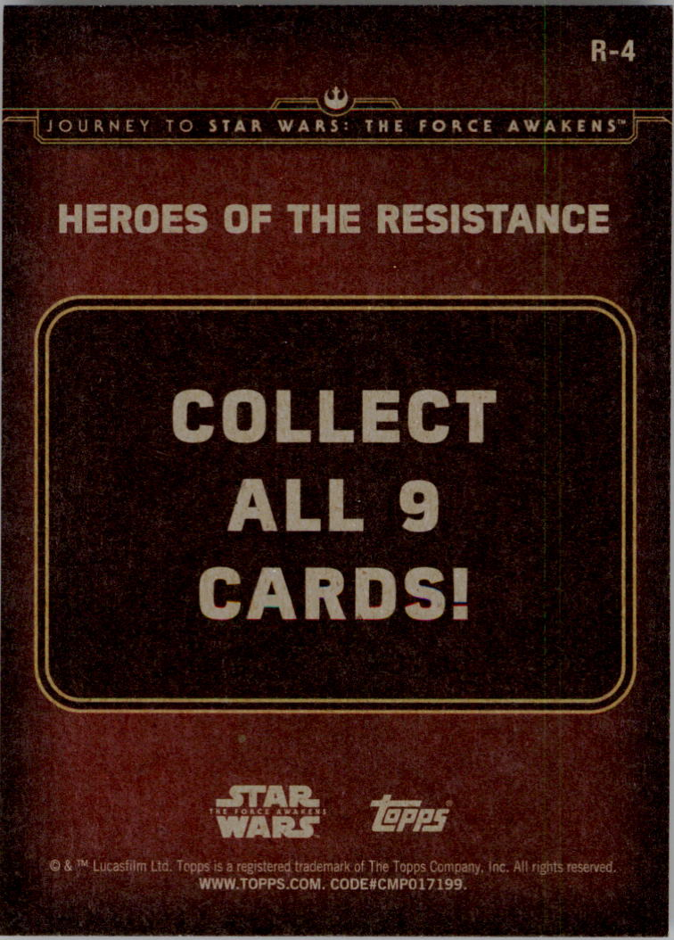 2015-Star-Wars-Journey-to-The-Force-Awakens-Insert-Singles-Pick-Your-Cards miniature 55