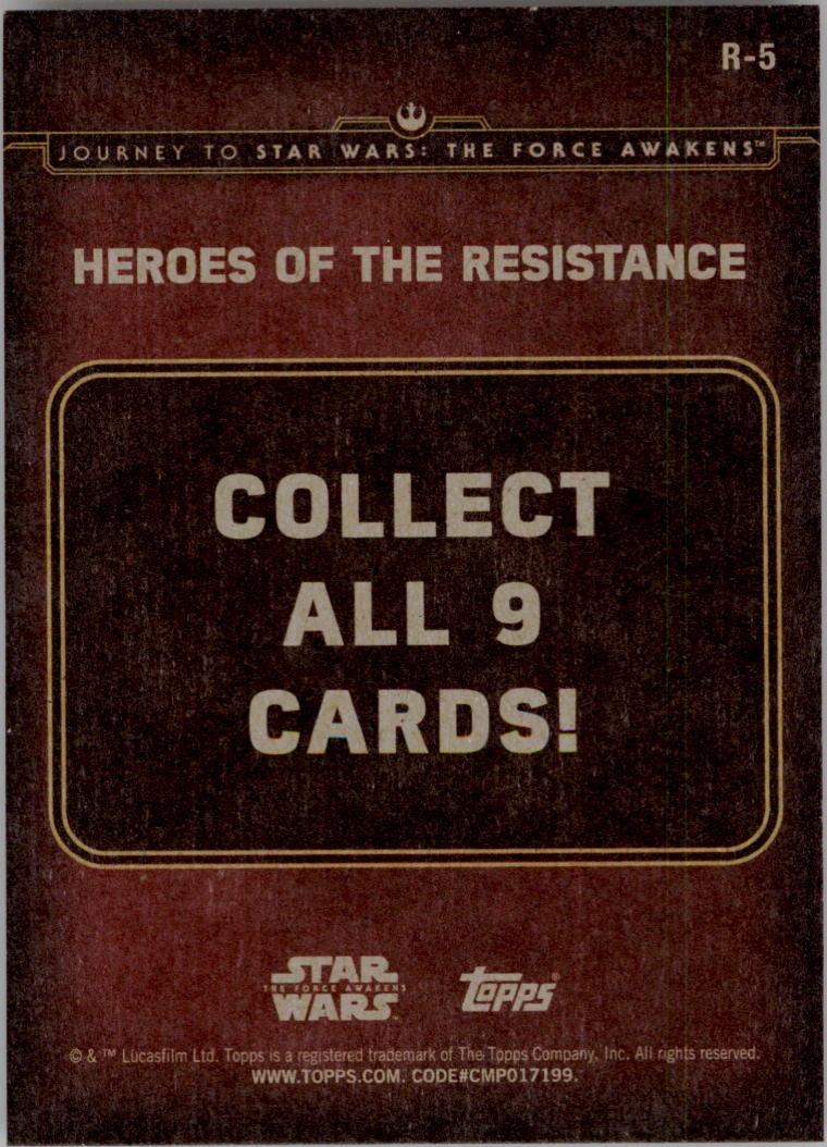 2015-Star-Wars-Journey-to-The-Force-Awakens-Insert-Singles-Pick-Your-Cards miniature 57
