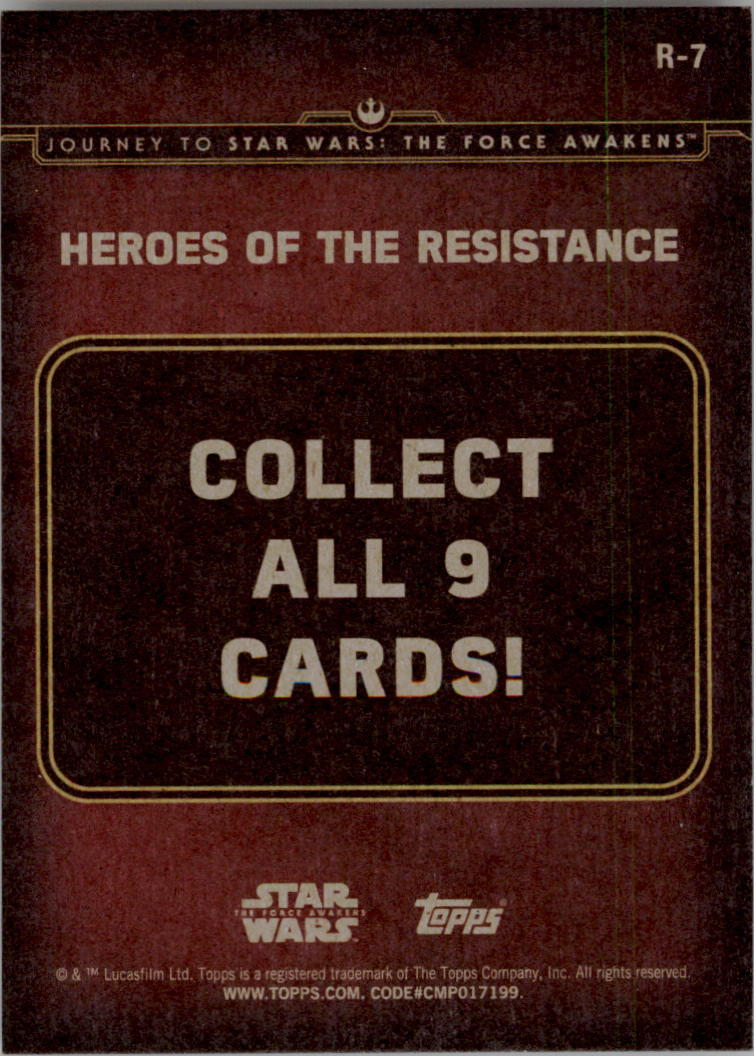 2015-Star-Wars-Journey-to-The-Force-Awakens-Insert-Singles-Pick-Your-Cards miniature 59
