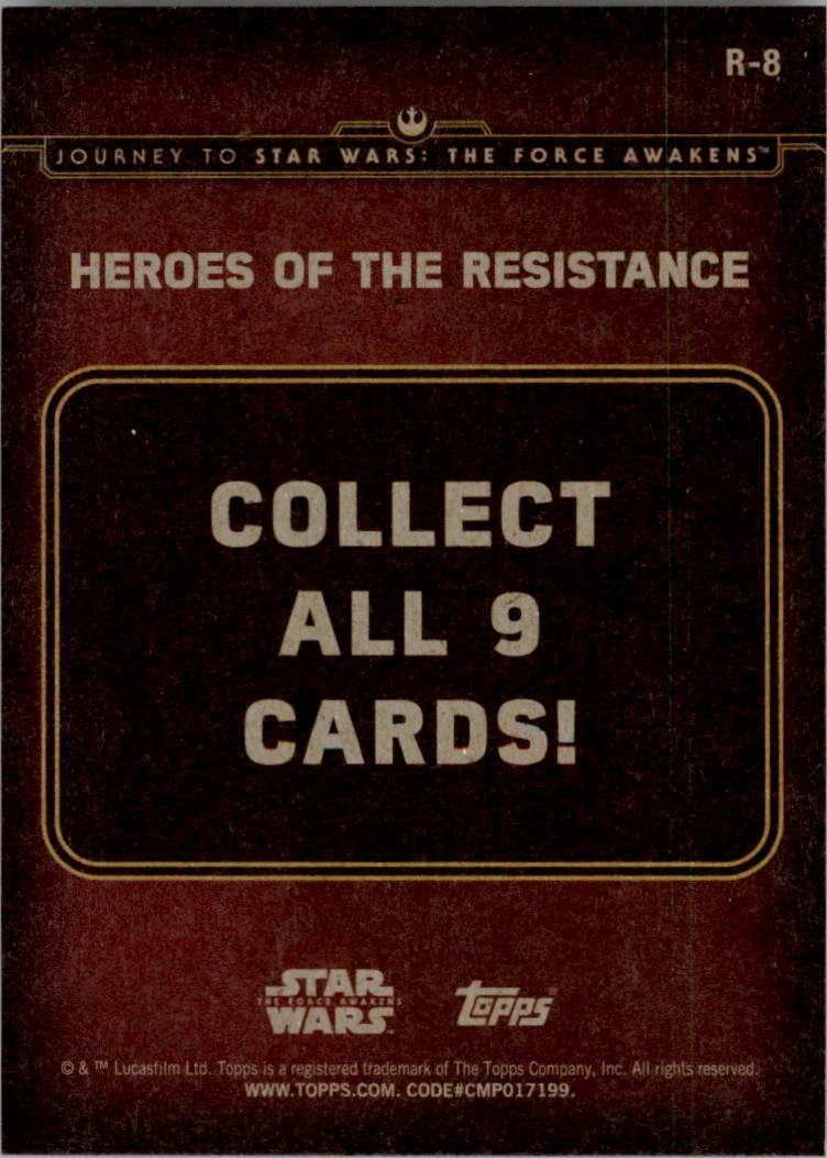 2015-Star-Wars-Journey-to-The-Force-Awakens-Insert-Singles-Pick-Your-Cards miniature 61