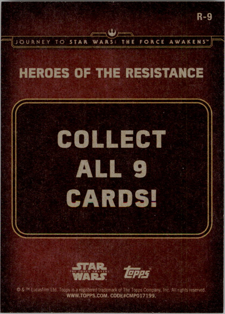 2015-Star-Wars-Journey-to-The-Force-Awakens-Insert-Singles-Pick-Your-Cards miniature 63