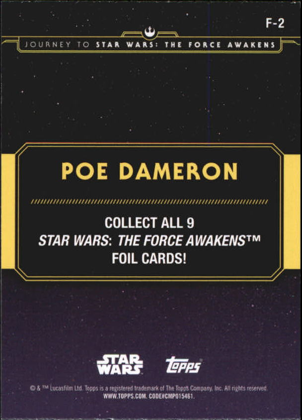 2015-Star-Wars-Journey-to-The-Force-Awakens-Insert-Singles-Pick-Your-Cards miniature 77