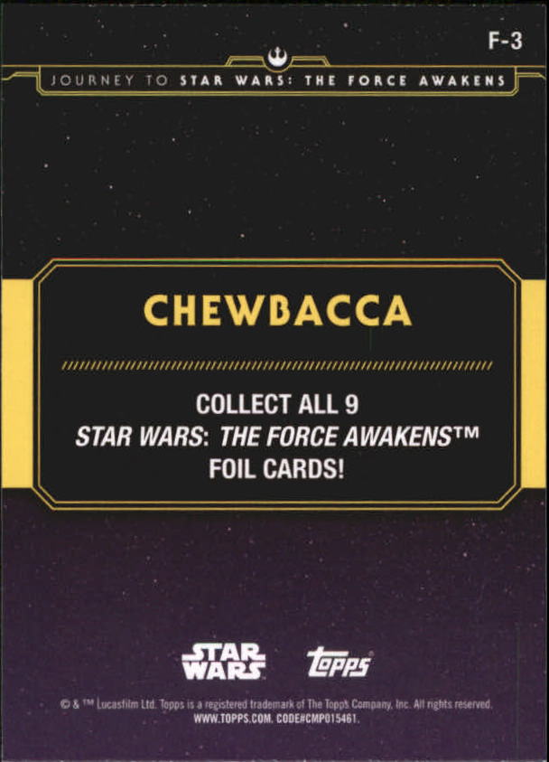2015-Star-Wars-Journey-to-The-Force-Awakens-Insert-Singles-Pick-Your-Cards miniature 79