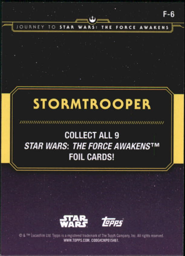 2015-Star-Wars-Journey-to-The-Force-Awakens-Insert-Singles-Pick-Your-Cards miniature 85
