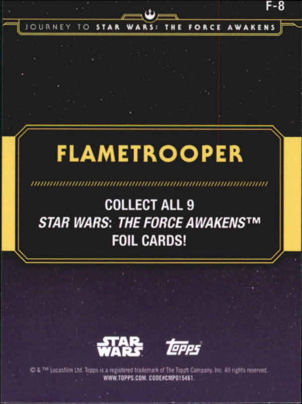2015-Star-Wars-Journey-to-The-Force-Awakens-Insert-Singles-Pick-Your-Cards miniature 89