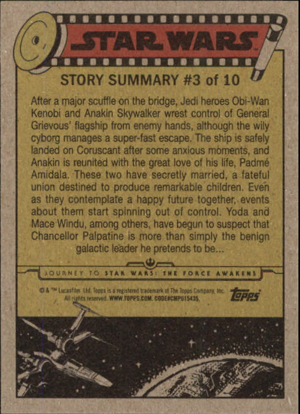 2015-Star-Wars-Journey-to-The-Force-Awakens-Base-Singles-Pick-Your-Cards miniature 21