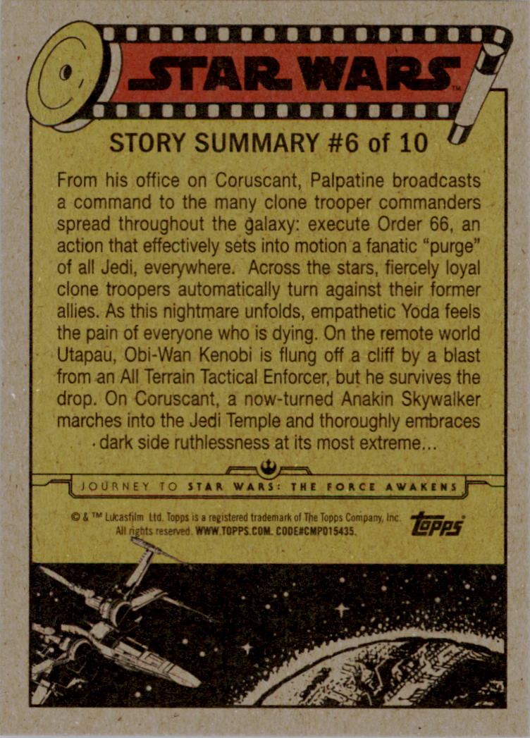 2015-Star-Wars-Journey-to-The-Force-Awakens-Base-Singles-Pick-Your-Cards miniature 25