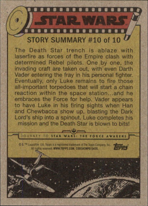 2015-Star-Wars-Journey-to-The-Force-Awakens-Base-Singles-Pick-Your-Cards miniature 37