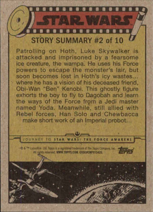 2015-Star-Wars-Journey-to-The-Force-Awakens-Base-Singles-Pick-Your-Cards miniature 55