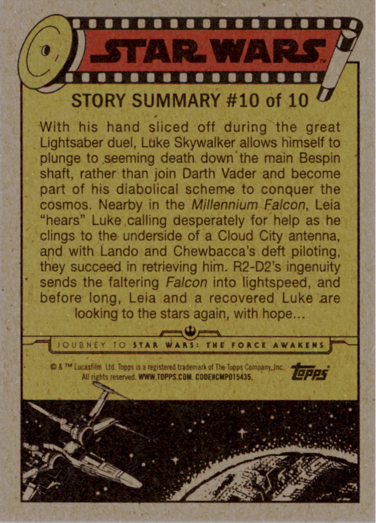 2015-Star-Wars-Journey-to-The-Force-Awakens-Base-Singles-Pick-Your-Cards miniature 65