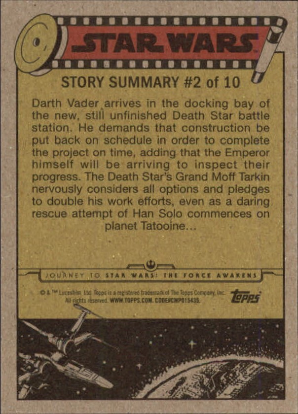 2015-Star-Wars-Journey-to-The-Force-Awakens-Base-Singles-Pick-Your-Cards miniature 83