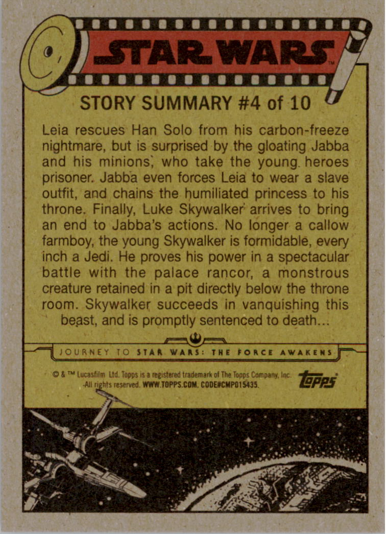 2015-Star-Wars-Journey-to-The-Force-Awakens-Base-Singles-Pick-Your-Cards miniature 87