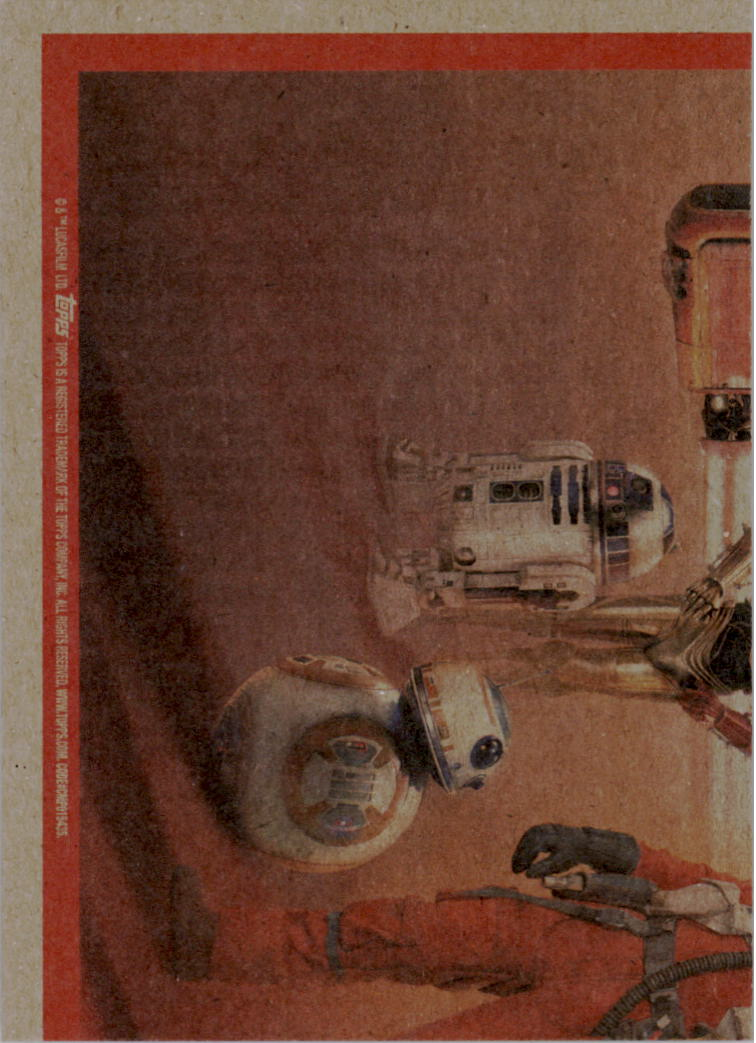 2015-Star-Wars-Journey-to-The-Force-Awakens-Base-Singles-Pick-Your-Cards miniature 111