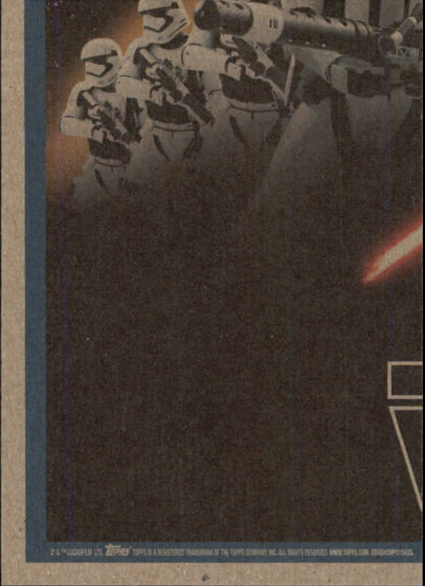 2015-Star-Wars-Journey-to-The-Force-Awakens-Base-Singles-Pick-Your-Cards miniature 121