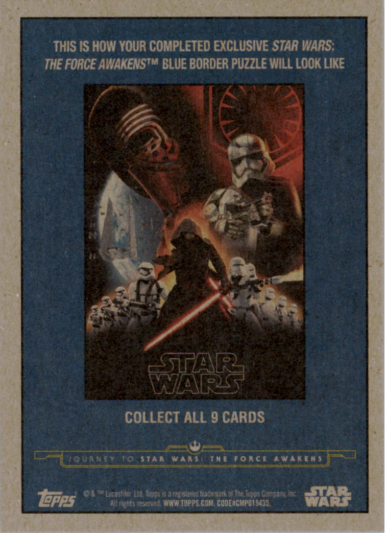 2015-Star-Wars-Journey-to-The-Force-Awakens-Base-Singles-Pick-Your-Cards miniature 123