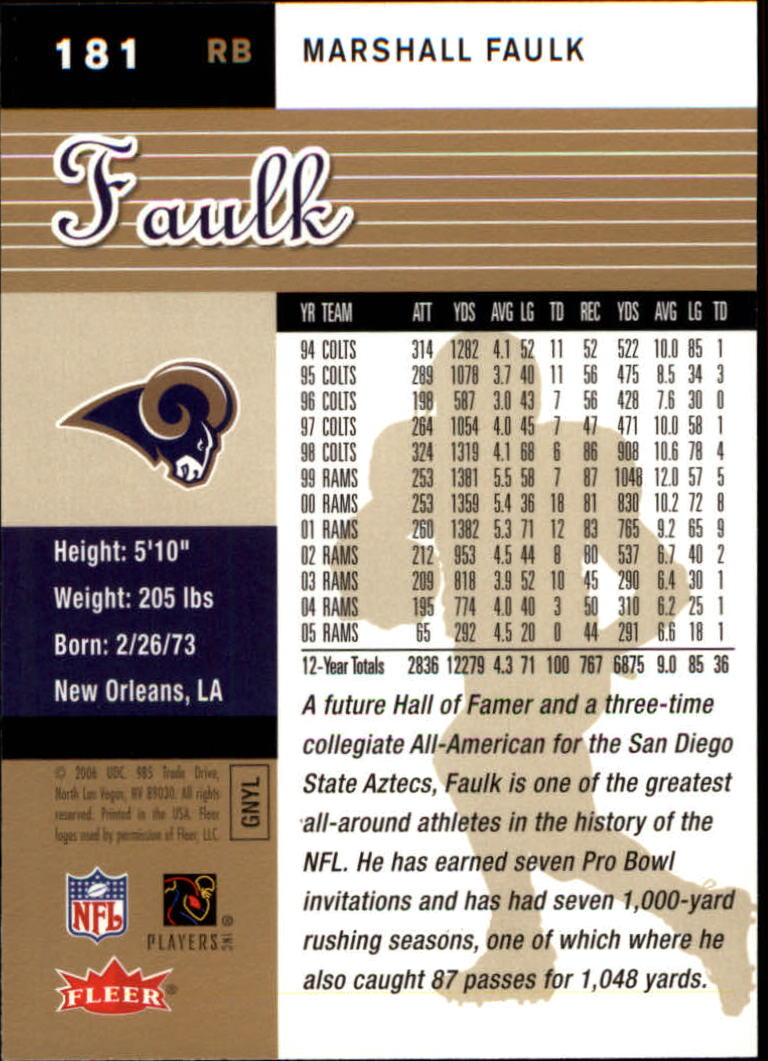 2006-Ultra-Football-Gold-Medallion-Parallel-Singles-Pick-Your-Cards thumbnail 203