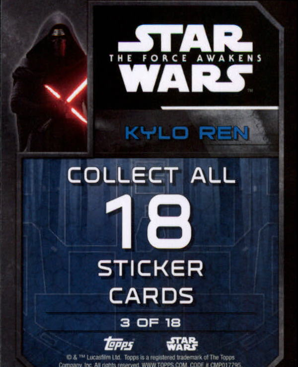 2016-Star-Wars-The-Force-Awakens-Series-Two-Insert-Singles-Pick-Your-Cards miniature 3