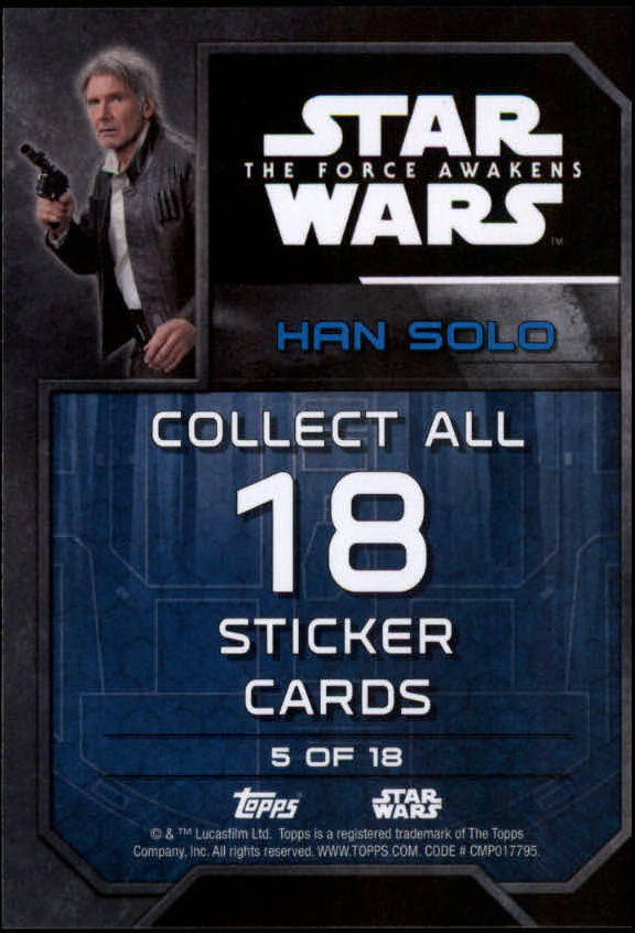 2016-Star-Wars-The-Force-Awakens-Series-Two-Insert-Singles-Pick-Your-Cards miniature 7