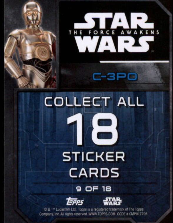 2016-Star-Wars-The-Force-Awakens-Series-Two-Insert-Singles-Pick-Your-Cards miniature 11