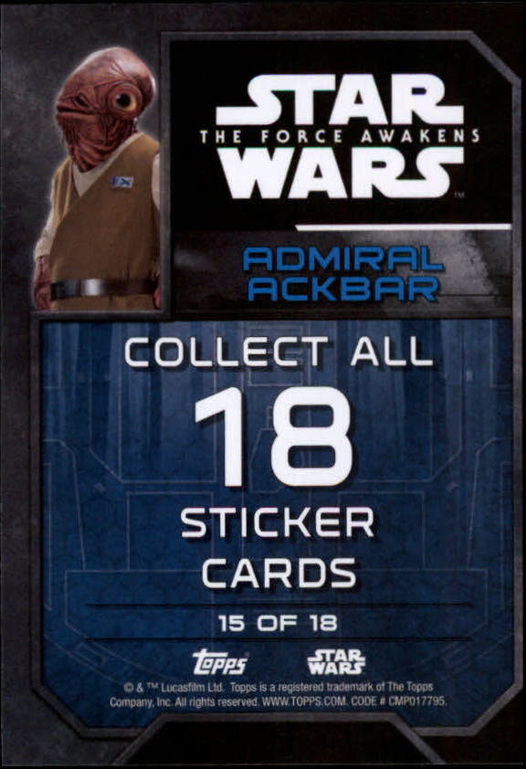 2016-Star-Wars-The-Force-Awakens-Series-Two-Insert-Singles-Pick-Your-Cards miniature 21