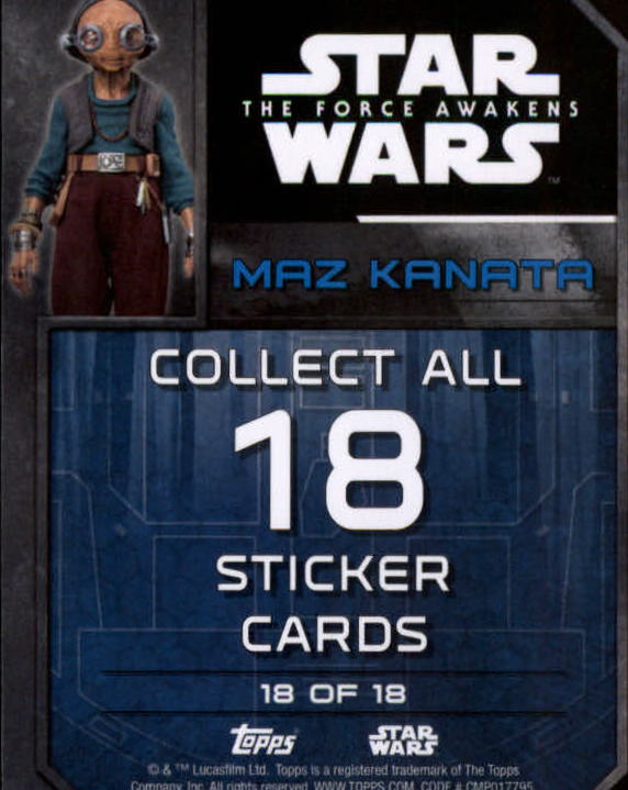 2016-Star-Wars-The-Force-Awakens-Series-Two-Insert-Singles-Pick-Your-Cards miniature 27