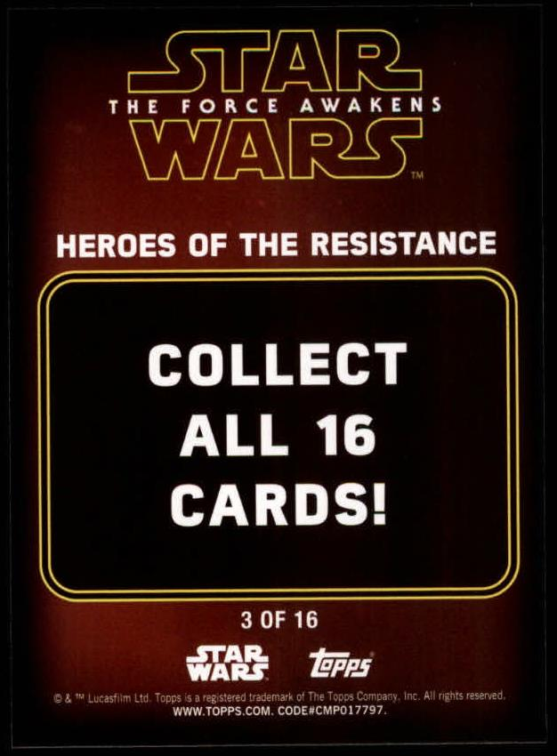 2016-Star-Wars-The-Force-Awakens-Series-Two-Insert-Singles-Pick-Your-Cards miniature 43