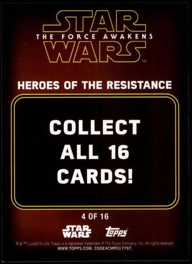 2016-Star-Wars-The-Force-Awakens-Series-Two-Insert-Singles-Pick-Your-Cards miniature 45