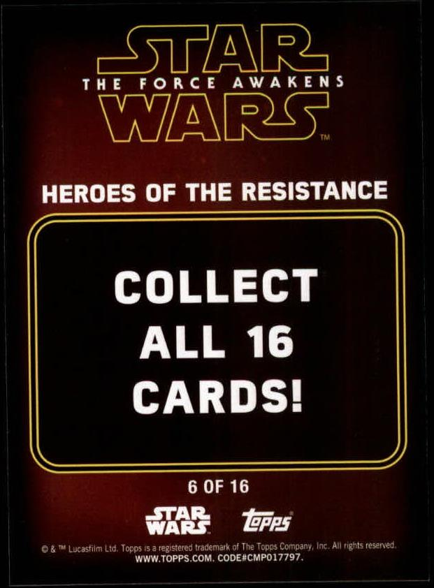2016-Star-Wars-The-Force-Awakens-Series-Two-Insert-Singles-Pick-Your-Cards miniature 49