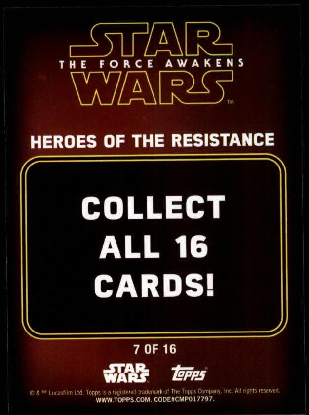2016-Star-Wars-The-Force-Awakens-Series-Two-Insert-Singles-Pick-Your-Cards miniature 51