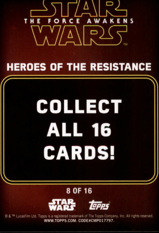 2016-Star-Wars-The-Force-Awakens-Series-Two-Insert-Singles-Pick-Your-Cards miniature 53