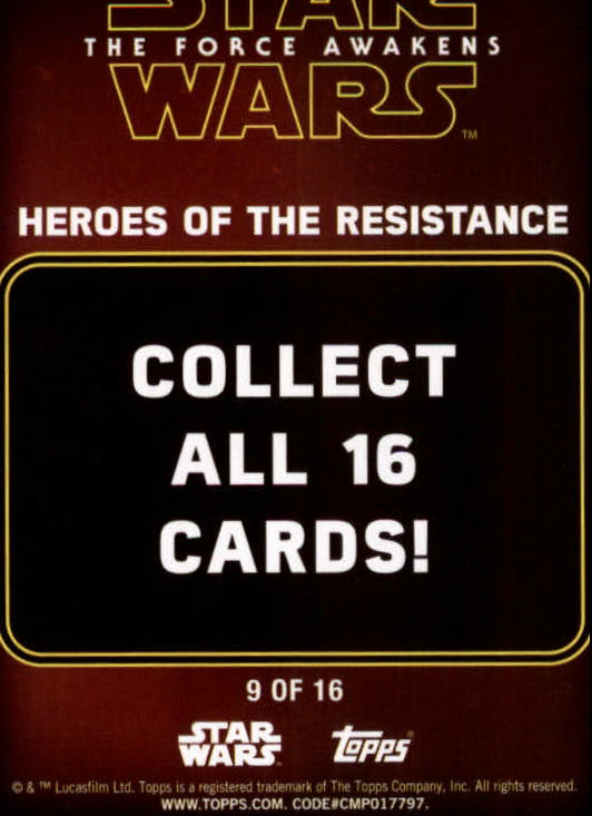 2016-Star-Wars-The-Force-Awakens-Series-Two-Insert-Singles-Pick-Your-Cards miniature 55
