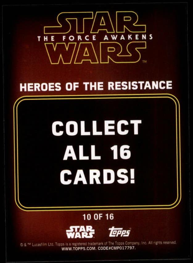 2016-Star-Wars-The-Force-Awakens-Series-Two-Insert-Singles-Pick-Your-Cards miniature 57