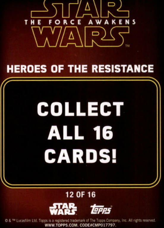 2016-Star-Wars-The-Force-Awakens-Series-Two-Insert-Singles-Pick-Your-Cards miniature 59