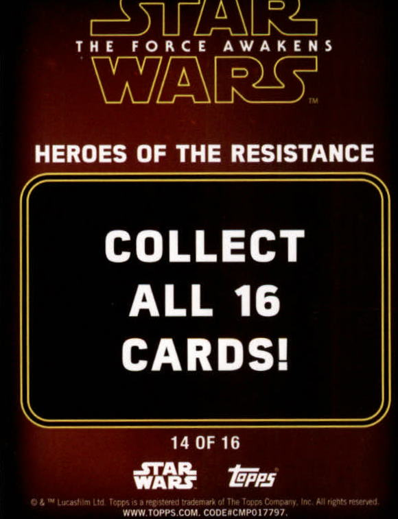 2016-Star-Wars-The-Force-Awakens-Series-Two-Insert-Singles-Pick-Your-Cards miniature 61