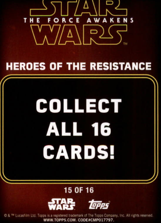 2016-Star-Wars-The-Force-Awakens-Series-Two-Insert-Singles-Pick-Your-Cards miniature 63
