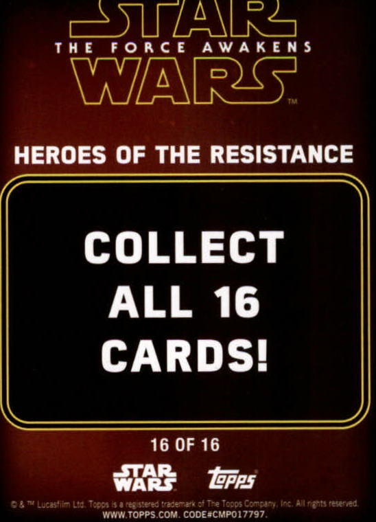 2016-Star-Wars-The-Force-Awakens-Series-Two-Insert-Singles-Pick-Your-Cards miniature 65