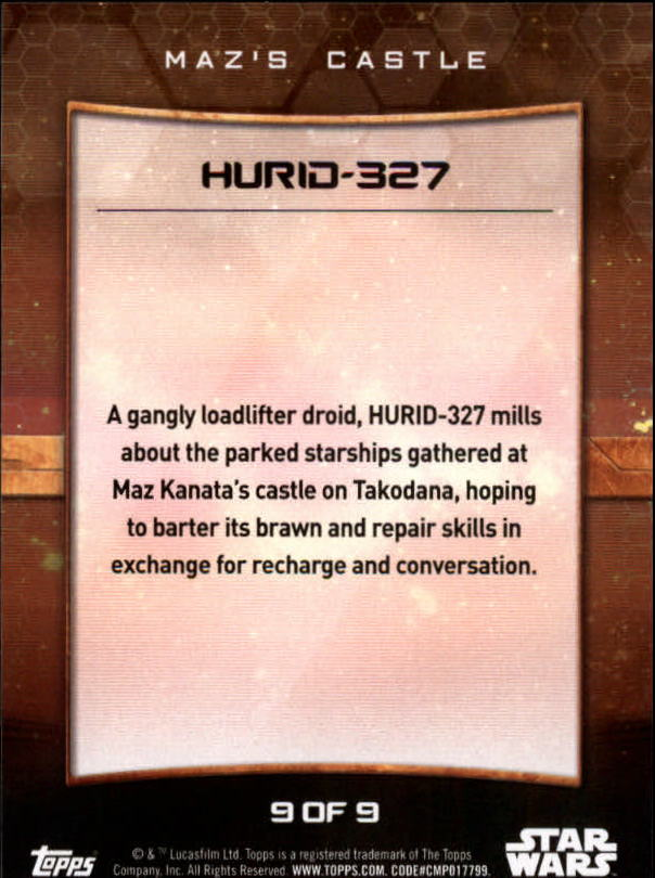 2016-Star-Wars-The-Force-Awakens-Series-Two-Insert-Singles-Pick-Your-Cards miniature 81