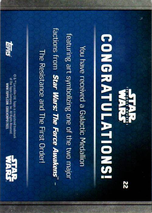 2016-Star-Wars-The-Force-Awakens-Series-Two-Insert-Singles-Pick-Your-Cards miniature 89